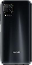Achterkant huawei p40 lite dual sim zwart
