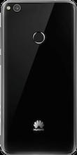 p8 lite 2017 zwart achterkant