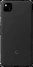 Achterkant google pixel 4a 5g zwart