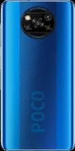 Achterkant xiaomi poco x3 dual sim blauw