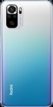 Achterkant xiaomi redmi note 10s dual sim blauw