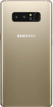 Achterkant galaxy note 8 gold