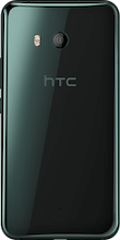 HTC U11 Dual Sim zwart achterkant