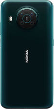 Achterkant nokia x10 dual sim groen