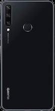 Achterkant huawei y6p dual sim zwart
