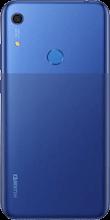 Achterkant huawei y6s dual sim blauw