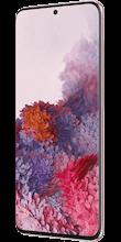 Zijkant samsung galaxy s20 dual sim roze
