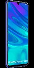 Zijkant huawei p smart plus 2019 dual sim blauw