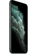Zijkant apple iphone 11 pro max midnight green