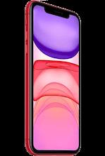 Zijkant apple iphone 11 refurbished red