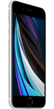 Zijkant apple iphone se 2020 refurbished wit