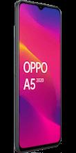Zijkant OPPO a5 2020 dual sim zwart