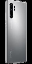 Zijkant huawei p30 pro new edition zilver