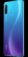 Zijkant huawei p30 lite new edition blauw