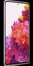 Zijkant samsung galaxy s20 fe 4g roze
