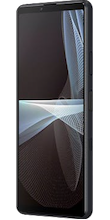 Zijkant sony xperia III zwart