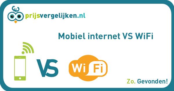 Wifi vs mobiel internet