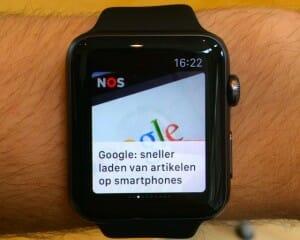 Apple Watch NOS app