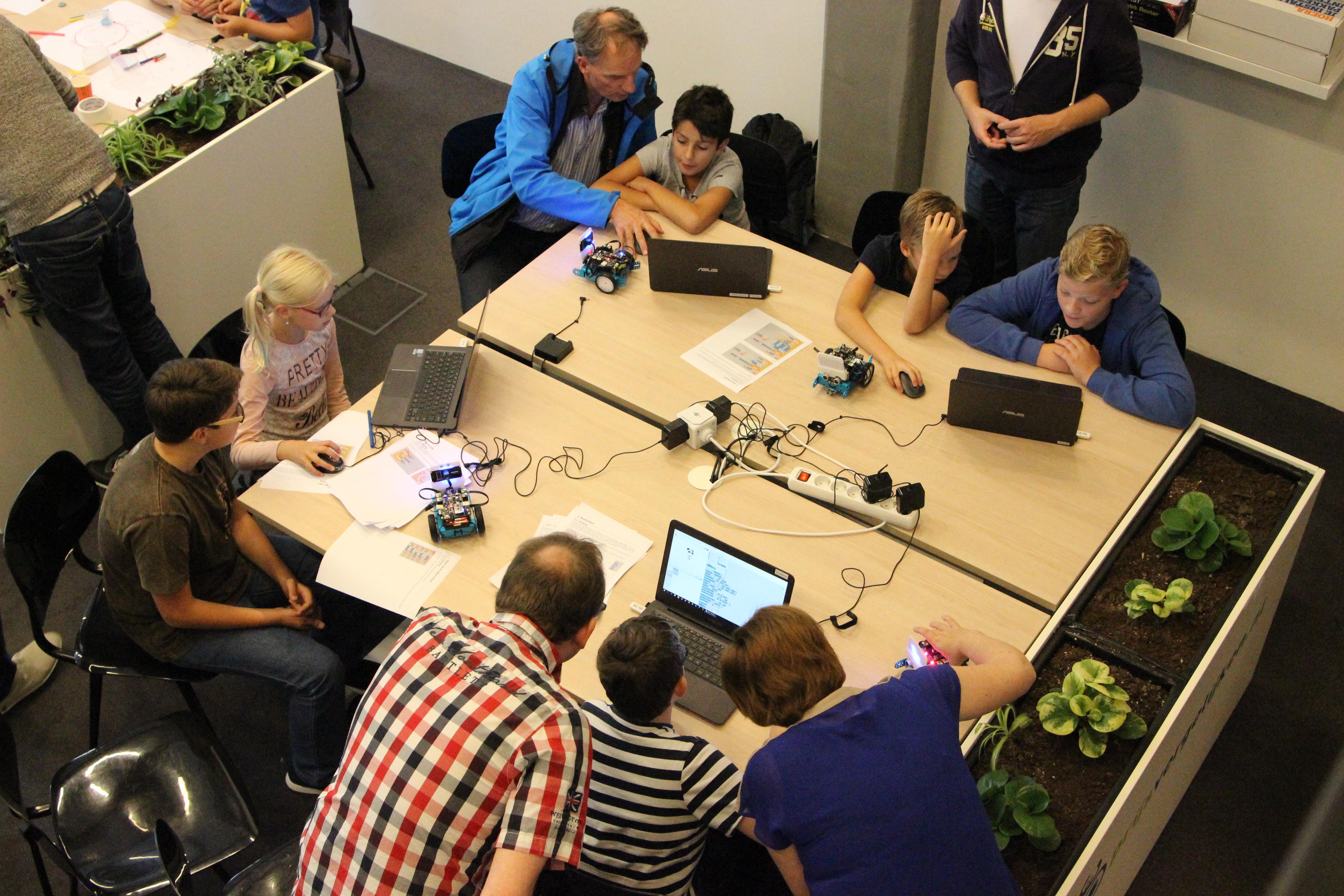 Kinderworkshop leren programmeren
