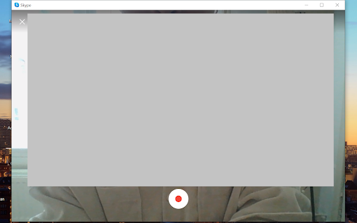 Screenshot videobericht opnemen in Skype