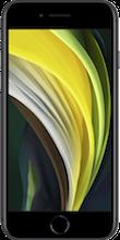 iphone se 2020 voorkant zwart