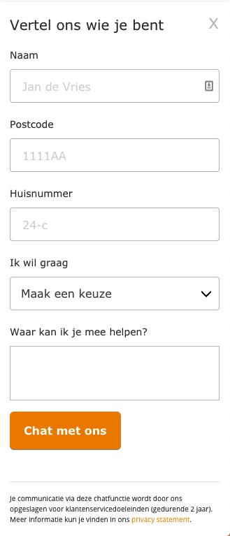 ziggo chat screenshot